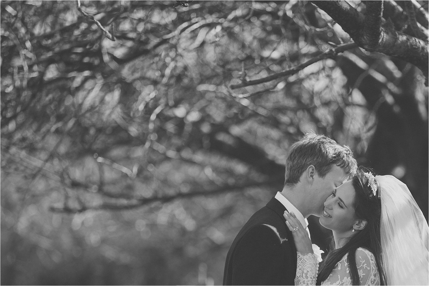 A stolen moment for Cheshire wedding couple