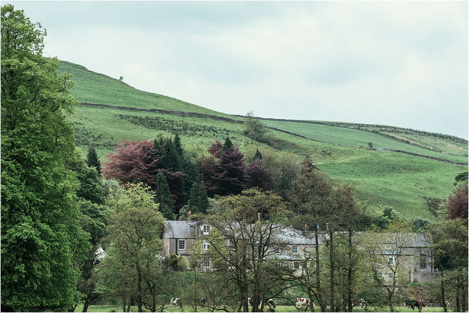 The Inn at Whitewell, nestled in the Lancashire hills