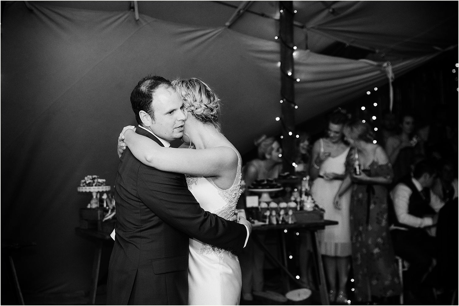 First dance from Lancashire Wedding. Wedding dress by Maggie Sottero from The Bridal Lounge in Accrington