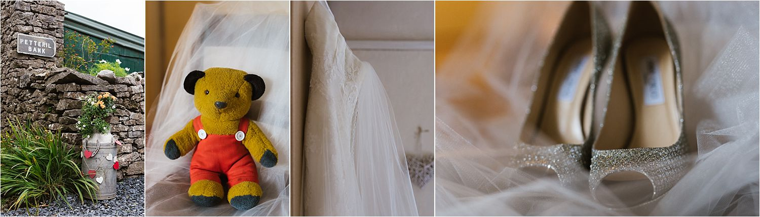 Wedding details for Belmount Hall wedding, Lake District