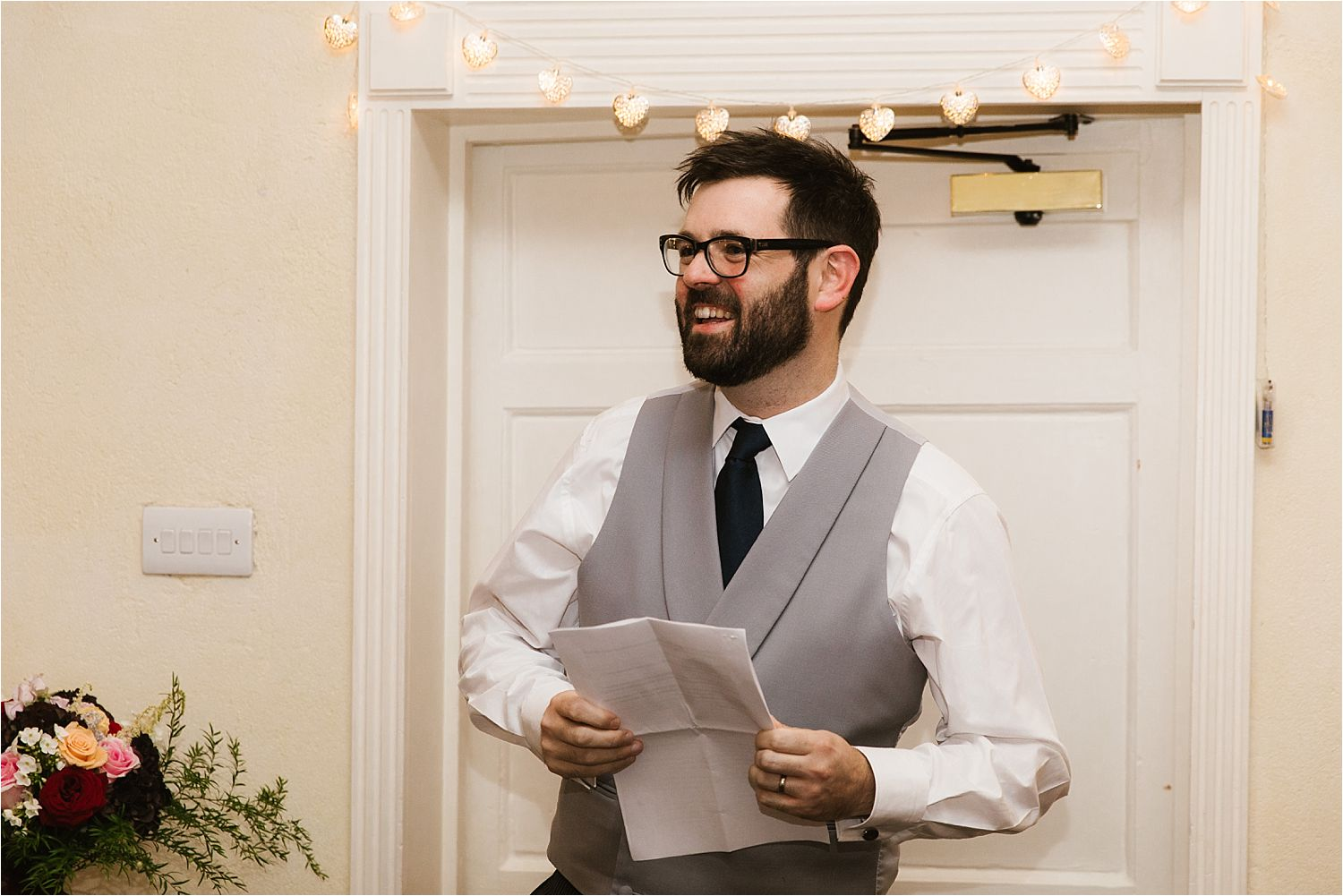 Best man's speech at Lake District wedding